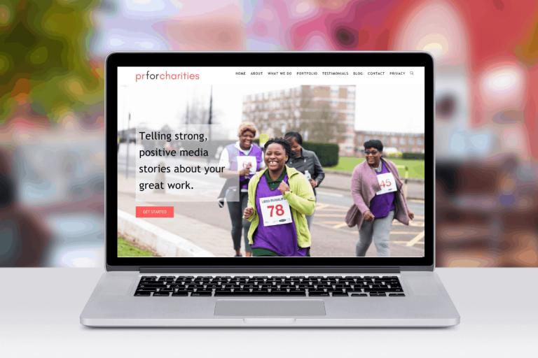 Charity WordPress website design